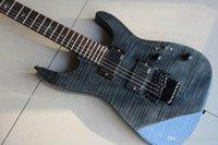 Aangepaste groothandel 6-snarige elektrische gitaar KIRK HAMMETT KH-20 Model Signature Coal Explosion Neck