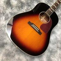 الجيتار الصوتية الشعبية 41 بوصة الصلبة الخشب التنوب J45 العفن