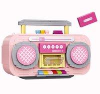 Loz Nette Rosa Recorder Bausteine Modell, Mini DIY Montieren Pädagogisches Spielzeug, Verzierung für Weihnachtskind-Geburtstagsmädchengeschenk, Sammeln Sie 1120, 3-3