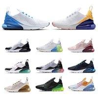 270 Laufsport Schwarz und Weiß Rosa Royal Blue Jogging Schuhe Freizeit Training Outdoor Sports Laufende Sportschuhe Jogging Schuhe 36-45