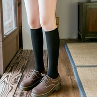 10 Colors Autumn new women's Socks Cotton Winter Long Socks Harajuku Female Trick Warm Solid color Sock Casual Ladies Sox