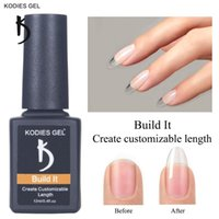 Nail Gel KODIES Build It For Nails Clear Brush On Builder Gellak Sculpting Camouflage Extension Strengthening Natural
