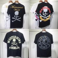 2021 뉴 포밍 인쇄 Mastermind 세계 일본 MMJ T 셔츠 남성 여성 1 : 1 고품질 해골 인쇄 캐주얼 유니섹스 티셔츠 티셔츠 의류 S0E