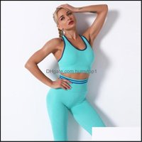 Gym Exercise Wear Athletic Outdoor Apparel & Outdoorsgym Clothing Womens Sports Bra Push Up Crop Top Fitness Breathable Sexy Running Yoga Sp