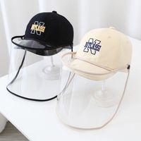 Spray de protectora de primavera y otoño de otoño Baby Duck Tongue Hat Sombrero de la situación de la epidemia Mascarilla Salir de la gorra de béisbol de los niños