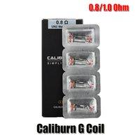 Оригинальный Caliburn G COIL E CIGARETTE 1.0OHM MESH 0.8OMM UN2 Смешные катушки STOMED-H Head для комплекта системы POD