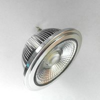 Lampor 2st / Lot AR111 15W CREE COB LED Lampa Lampa G53 GU10 Tak QR111 Spotlampa AC110V / 220V / DC12V 3 års garanti