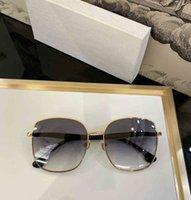디자이너 안경 럭셔리 브랜드 대형 남성 선글라스 여성 스퀘어 선글라스 브랜드 디자이너 빈티지 비치 그늘 파티 안경용 안경 AA297 FDNZ