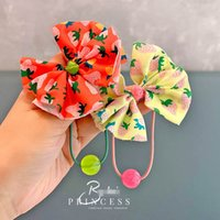 Girls Hair Accessories Tie Kids Hairbands Bands Headbands Children Childrens Ornament Fruit Bow Ring Baby Rope Jewelry Teenage Girl Scrunchies B7148