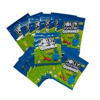 Bolsa Mylar Embalagem Comestível Saco Pacote Árvore Zíper Cheiro Comida Alimentos Embalagem Sacos Com Raio Notch Green 500mg Azul 600mg Pacote Plástico Bloqueio de Proteção Criança