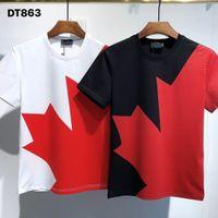 Top Qualität italienischer Sommerdruck Männer Druck T-shirt Mode Brief Hip-Hop Sport Polo Hemden Mens Rundkragen Kurzarm T-Shirt Tops T Shirts