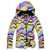 Skiing Jackets 10K Women's Winter Clothing Zebras Ladies Ski Sets Snowboard Suit Windproof Warm Open Kits Jacket