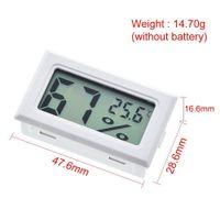 ميزان الحرارة الرقمي الرطوبة مصغرة lcd الرطوبة متر الثلاجة ثلاجة ترمومتر ل -5070 مبردات حوض السمك