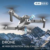 S602 4K Dual-Camera Wifi Mini Brokenner Doing، Track Flight، 360 درجة فليب الارتفاع، 3-التروس السرعة، أخذ الهاتف من خلال الإيماءة، هدية طفل، 3-1