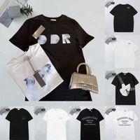 2021 hombres Casual T Shirts Tamaño S-3XL Mans Diseñador Camisetas Hombre de lujo Camiseta de manga corta para hombre Camiseta con letras Imprimir manga corta