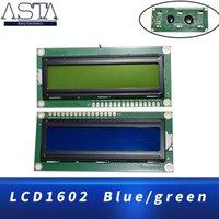 Perline Light 1602 16x2 Carattere Display LCD Modulo HD44780 Controller Blu / Green Screen Blacklight LCD1602 Monitor 5V