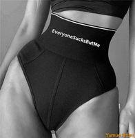 Belts Print Letter Body Shaping Underwear High Waist Sexy Shorts Fashion Autumn SlimWomenCottonPolyesterCasualButtLifting
