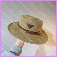 Wohnung montierter Eimer Hat Designer Frauenkappen Hüte Mens Casquette Woven Strohhut Womens Casual Summer Beach Baseballmütze D218023F