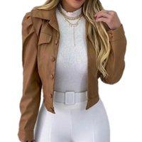 Women's Jackets Autumn PU Leather Basic Coat Woman Clothing Fashion Bomber Casaco Feminino Outerwear Short Women Chaqueta Mujer