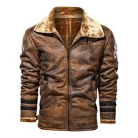 Pelzkragen Winterjacke Mens Parkas Mantel Vollfarb Dicke Warme Motor Mode Männliche Mantel Wolle Liner Männer Outwear 2020 NEU