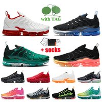 nike air vapormax plus tn plus Мужские кроссовки большого размера us 13, белые, красные, летние, черные, с закатом, черные, королевские, темно-синие, женские кроссовки
