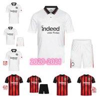 20 21 Frankfurt Casa e Away Adulto + Suita da calcio per bambini Abito da calcio di alta qualità 2020 2021 Francofortea Casa e Away Silvadost Abraha