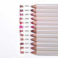 Matite labbra 12 colori Set di trucco Set Pigmenti di lunga durata Liner Penna Strumenti strumenti Tool Kit Cosmetici Commercio all'ingrosso