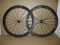بوب كوني كربون عجلة الفاصلة أنبوبي حافة عجلات 700C الطريق الدراجة العجلات 50x23 ملليمتر