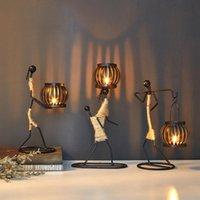 촛불 홀더 장식 금속 테이블 센터 촛불 센터 픽스 정원 촛대 홈 웨딩 중심 장식 예술
