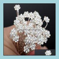 Ювелирные изделия шпильки ювелирные изделияweddding Pearl Chrinsone Pins Pins Crystal Clips Bridesmaid 5 стилей u Выбрать свадебные боести для волос падение доставки 20