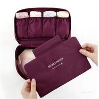 Viaje Multifuncional Bolsa de ropa interior BRADA Bolsa de almacenamiento Ropa ropa interior Embalaje Bolsos Organizador T500492