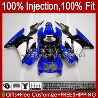 Injektion für Kawasaki Ninja ZX250R EX250 ZX250 blau glänzend 08 09 10 11 12 13HC.150 ZX 250R EX250R ZX-250R 2008 2009 2010 2011 2011 2012 Verkleidung
