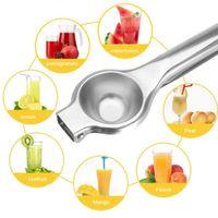 Портативная кухня из нержавеющей фруктов лимона Squeezer оранжевый цитрусовой рукой сжатый соковыжималка Clip Bar инструмент сок производителя других кухонных инструментов