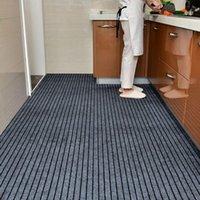 Carpets Large Doormat For Entrance Door Outdoor Indoor Anti Slip Striped Kitchen Carpet Hallway Bedroom Living Room Area Rugs Floor Mat