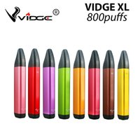 VIDGE XL Disposable E Cigarettes Pod Device Kit 800 Puffs 500mAh Battery 3ml Pods Cartridges Stick Vape Pen