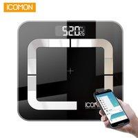 Icomon I31 умный масштаб веса тела цифровая ванная комната толстый жир Mi масштаб Bluetooth человеческий вес BMI весы весы весы для пола баланс T200117