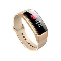 B31 Bracelet Smart Bracelet Bluetooth Bluetooth Appelez Écouteur 2 en 1 Podomètre Moniteur Sommeil Conformité Fitness Tracker pour IOS Android Bracelet