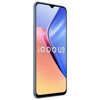 "Orijinal Vivo IQOO U3 5G Cep Telefonu 6 GB 8 GB RAM 128 GB ROM MTK 800U Android 6.58 ""Tam Ekran 48MP AR 5000mah Uyandırma Yüz ID Akıllı Cep Telefonu"