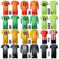 حارس مرمى الشباب حارس مرمى GK Soccer Jersey Set 2020 Kids 13 Jan Oblak 1 Antonio Adan 1 Miguel Angel Moya Football Chirt Kits MJ