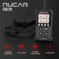 Thinkcar Mucar CDL20 Outils de diagnostic de voitures professionnelles automobiles Automobile OBD 2 Tool de scanner de lecteur d'analyseur de moteur