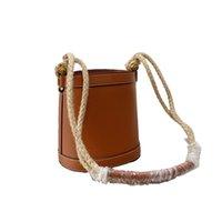 Women Classic hemp rope strap Bucket Bag must have Fashion Drawstring Handbags top quality Shoulder handbag Large capacity crossbody Purse Multi Pochette Wallets