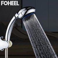 Chuveiro de banheiro Heads Foheel cabeça de alta pressão cabeça economia portátil 9 engrenagem posição ajustável spa chuva
