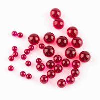 لؤلؤة جديدة 4 ملليمتر 6 ملليمتر dab 8 ملليمتر روبي terp اللون ل 25 ملليمتر 30 ملليمتر كوارتز البنغر الأظافر زجاج بونغ بيرل الكرة إدراج أحمر
