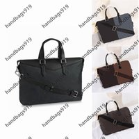 Men Briefcase Classica Aktentasche laptop bag handbag mens Fashion all-match Casual Classic retro High capacity Crossbody shoulder bags handbags