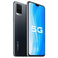 "Original Vivo S7t 5G Mobile Phone 8GB RAM 128GB ROM MTK 820 64MP 4000mAh Android 6.44"" Full Screen Fingerprint ID Face Wake Smart Cell Phone"
