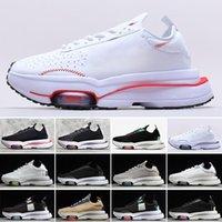 2021 Zoom Tipi N.354 Menta Siyah Zirvesi Beyaz Ayakkabı Erkek Kadın Zoomx Des Chaussures Erkek Rahat Spor Eğitmenler Sneakers Boyutu 36-45