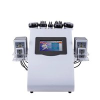 2020 New Arrival 6 In 1 40K Ultrasonic Cavitation Vacuum Radio Frequency Laser 8 Pads Lipo Slimming Machine for Home Use