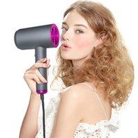 Pennelli per capelli elettrici 1800W Professional Blow Asciugamano Tecnologia ceramica Ioni negativi per la casa Salon Styler Incinta con diffusore Concentra