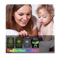 DHL Advance Radiation Gadgets 기술 에너지 절약 칩 안티 스티커 EMR 바이오 EMF 차폐 4 색