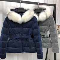 France Luxury Brands Designer Winter Short Down With Belt For Woman Hoodie Zipper Coats Women's Bodycon Outerwear Sweater Dress Mens Leather Jacket Plus Size